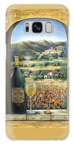 Wine And Poppies Galaxy S8 Case