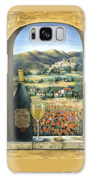 Wine And Poppies Galaxy Case