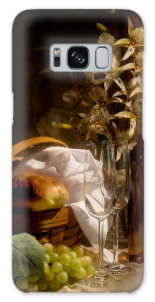 Basket Galaxy Case - Wine And Romance by Tom Mc Nemar