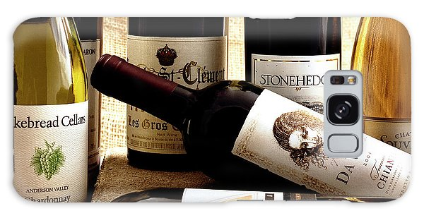 Wine Bottles Galaxy Case by Susan Stone