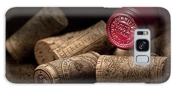 Wine Corks Still Life Iv Galaxy Case