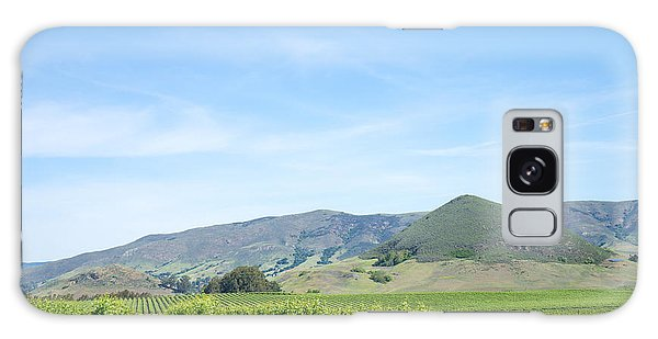 Galaxy Case featuring the photograph Wine Country Edna Valley by Priya Ghose