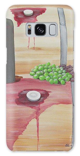 Wine N Grapes Galaxy Case