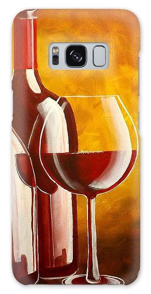 Wine Not Galaxy Case by Darren Robinson