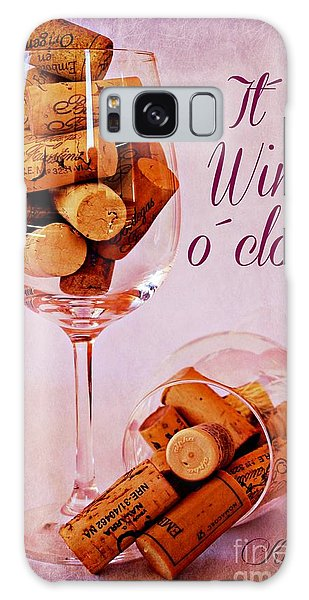 Wine Time Galaxy Case