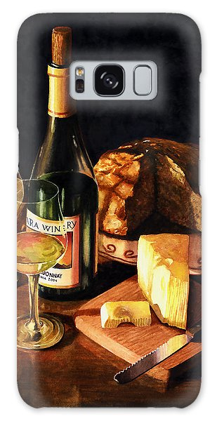 Wine With Cheese Galaxy Case