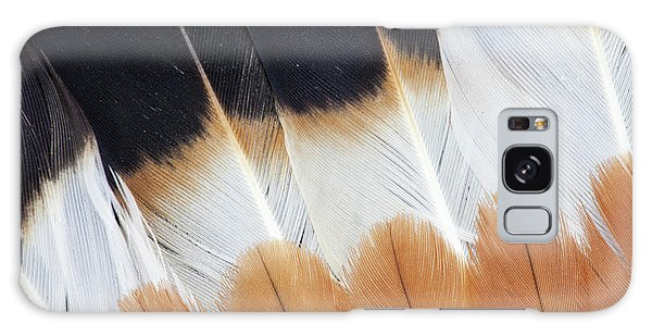 Lapwing Galaxy Case - Wing Fanned Out On Northern Lapwing by Darrell Gulin