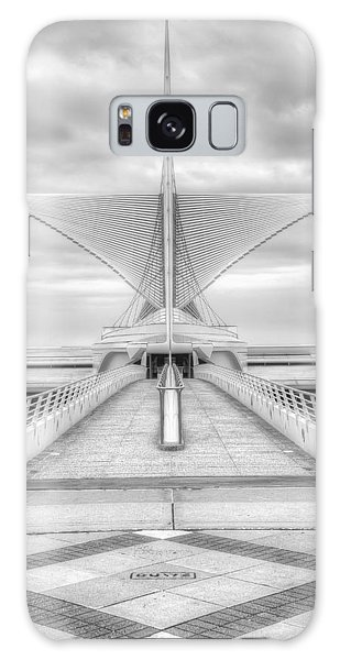 Black And White Art Galaxy Case - Wing Span by Scott Norris