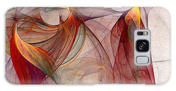 Winged-abstract Art Galaxy Case