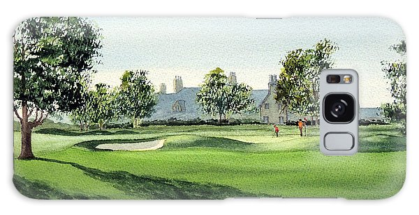 Winged Foot West Golf Course 18th Hole Galaxy Case by Bill Holkham