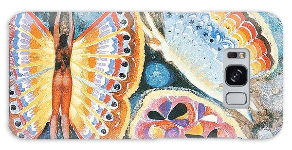 Hybrid Galaxy Case - Wings, 1979 Oil On Canvas by Radi Nedelchev