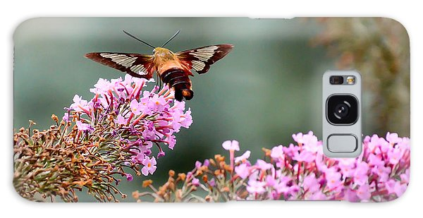 Wings In The Flowers Galaxy Case by Kerri Farley