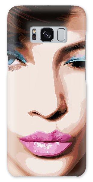 Wink - Pretty Faces Series Galaxy Case