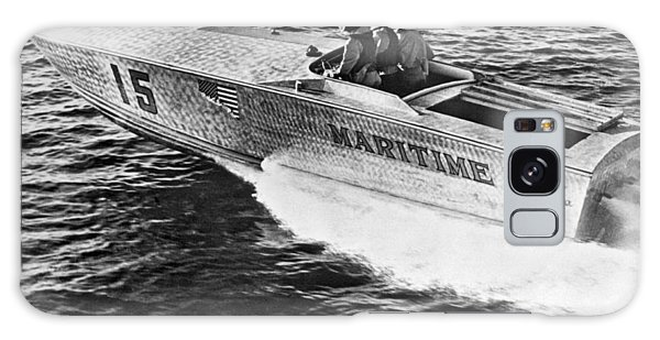 Powerboat Galaxy Case - Winner Of The 180 Mile West Palm Beach To Lucaya-freeport Gatewa by Underwood Archives