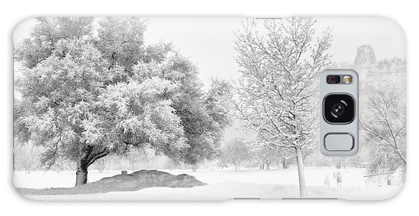 Winona Snowstorm Galaxy Case