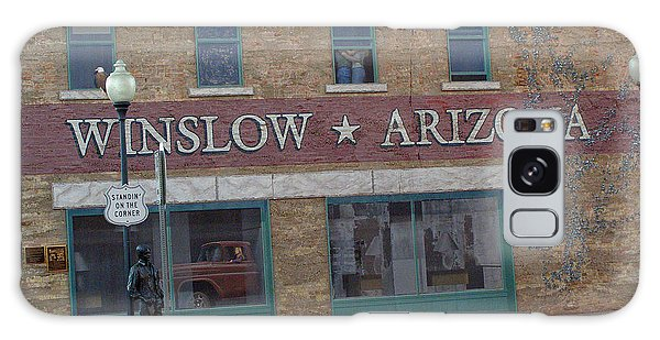 Winslow Arizona Galaxy Case