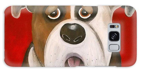 Winston The Dog Galaxy Case