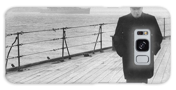 Atlantic Ocean Galaxy Case - Winston Churchill by English Photographer