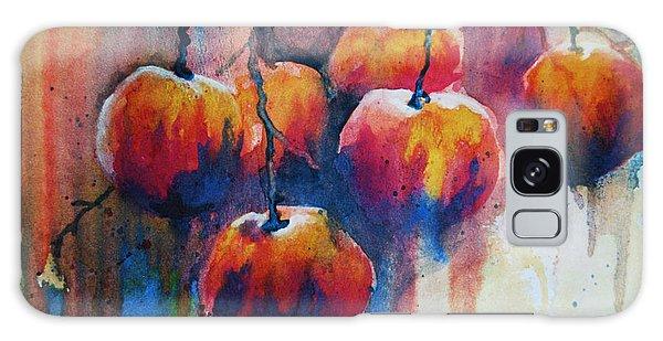 Winter Apples Galaxy Case