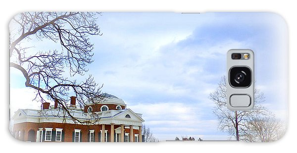 Winter At Monticello Galaxy Case