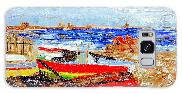 Winter At Provincetown Galaxy Case by Michael Daniels