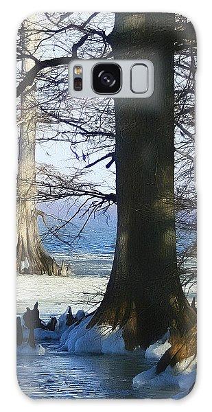 Winter At Reelfoot Lake Galaxy Case
