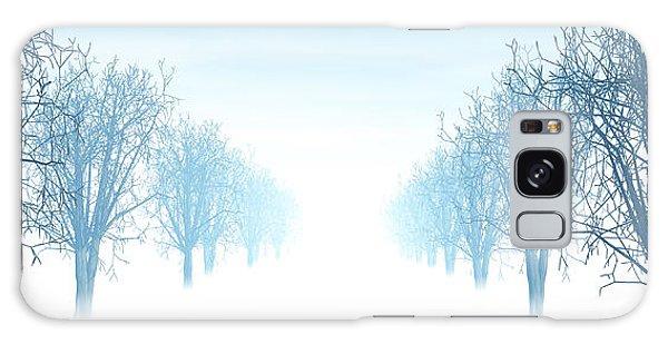 Winter Avenue Galaxy Case by Nicholas Burningham