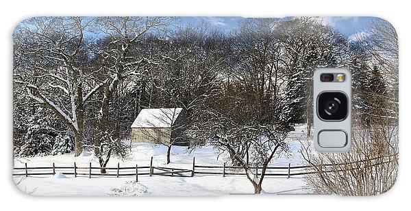 Winter Barn Galaxy Case
