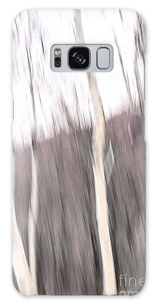 Winter Birches Tryptich 1 Galaxy Case by Susan Cole Kelly Impressions