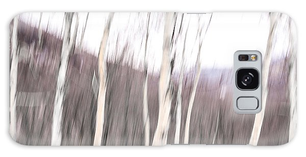 Winter Birches Tryptich 2 Galaxy Case by Susan Cole Kelly Impressions