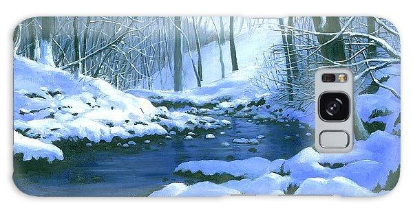 Winter Blues - Sold Galaxy Case by Michael Swanson