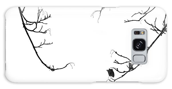 Winter Branch Abstract Galaxy Case