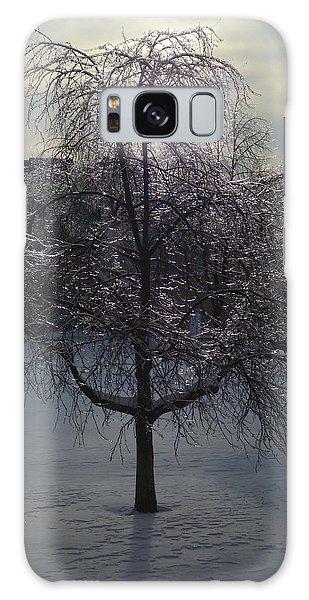 Winter Candelabrum Galaxy Case