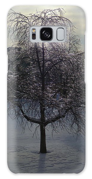 Winter Candelabrum Galaxy Case by Henryk Gorecki