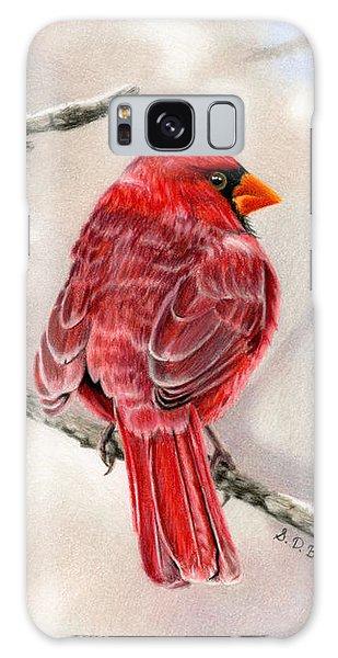 Winter Cardinal Galaxy S8 Case
