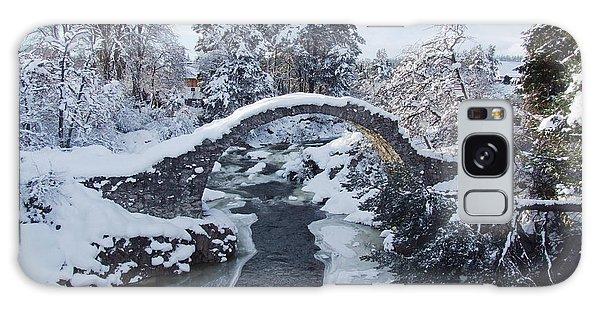 Winter - Carrbridge - Scotland Galaxy Case