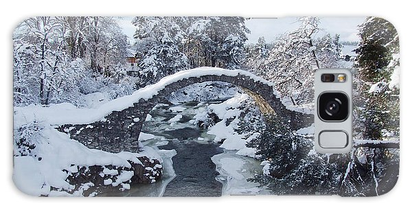 Old Packhorse Bridge   Galaxy Case