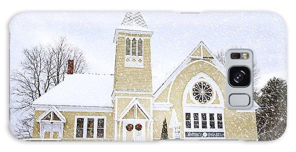 Winter Chapel Galaxy Case