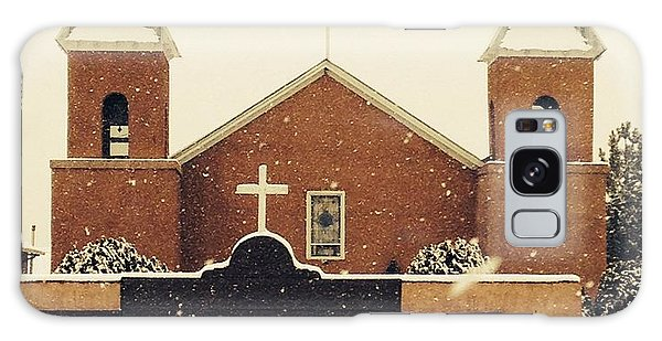 Winter Church Galaxy Case