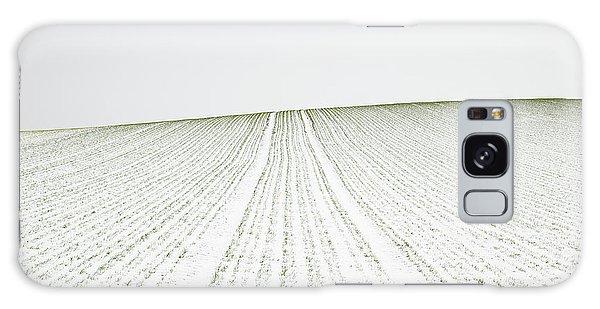 Rural Galaxy S8 Case - Winter Crop by Martin Rak