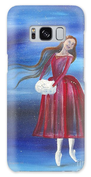 Winter Dancer3 Galaxy Case by Laurianna Taylor