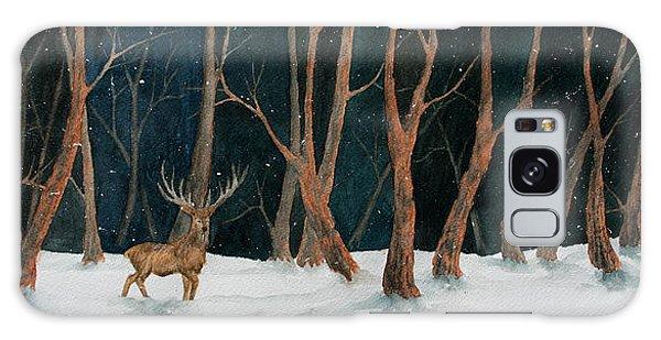 Winter Deer Galaxy Case