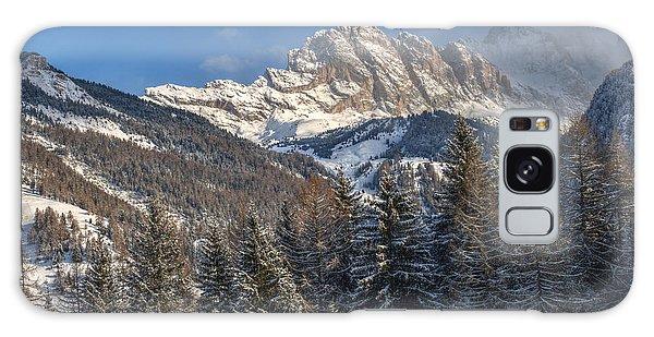 Winter Dolomites Galaxy Case