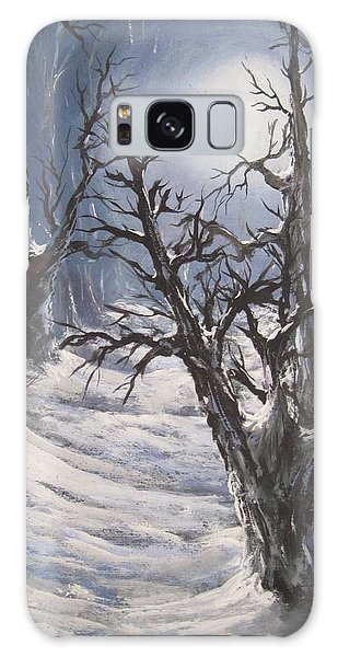 Winter Eve Galaxy Case by Megan Walsh