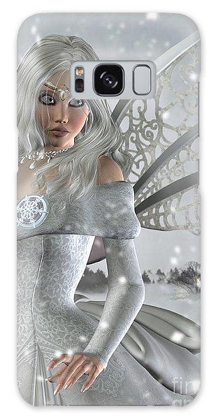 Winter Fairy In The Snow Galaxy Case