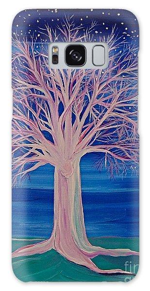 Winter Fantasy Tree Galaxy Case