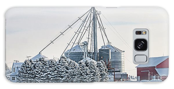 Winter Farm  7365 Galaxy Case