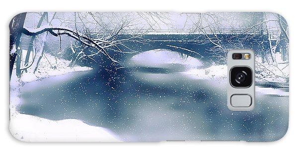 Winter Haiku Galaxy Case