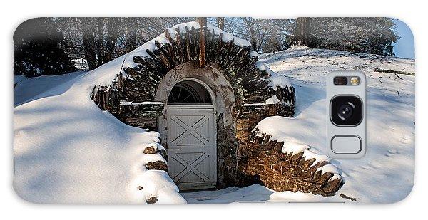 Winter Hobbit Hole Galaxy Case