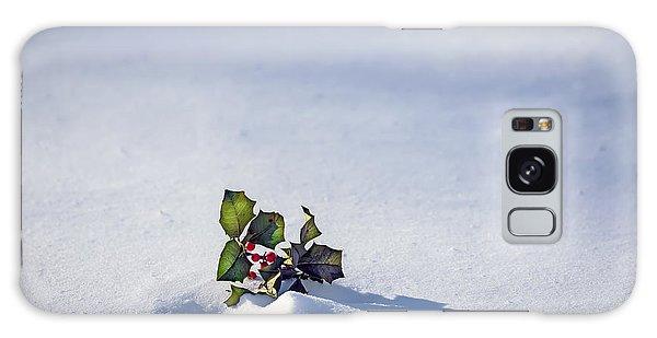 Winter Holly Galaxy Case